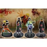 Naruto Figuras Anime Por 4