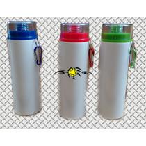 Botella De 750 Ml Aluminio Sublimacion Plancha Danvera
