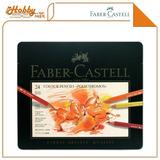 Lápis De Cor Polychromos 24 Cores Faber Castell Estojo Metál