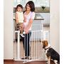 Reja Puerta Seguridad Para Escalera Muros Metalica Munchkin