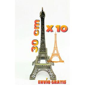 10 Torres Eiffel Paris Adornos Para Evento - Mayoreo