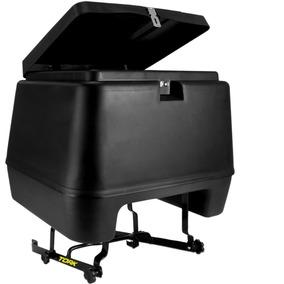 Baú Moto Frete 80 Litros Pro Tork + Suporte Cg Titan 95 A 99