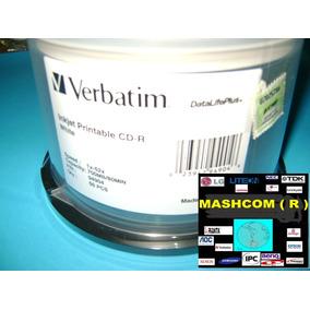 Cd Verbatim Imprimibles X 50 - ( Se Manda X Mercadoenvios )