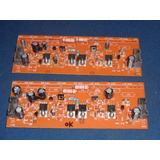 Placa Amplificador + Componentes Até 600 Watts Rms