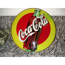 Cartel Coca & Cola Coleccionable Acrilico Vintage!!!! Unico