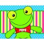 Kit Imprimible Sapo Pepe Candy Bar Golosinas Y Mas