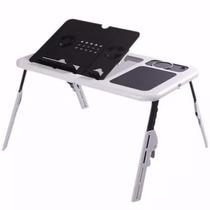 Mesa Para Notebook Ajustav Regulavel Com Cooler Hub Usb Base