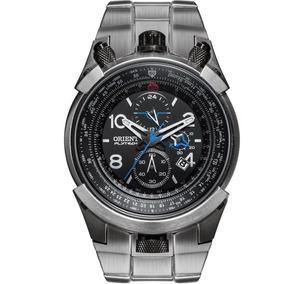 Relógio Orient Masculino Flytech Mbttc008 P2gx Titanio