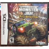 Juego Para Nintendo Ds Monster Jam Niños Navidad Regalo
