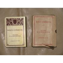 Alcancia Antigua Del Banco Comercial En Caja Original