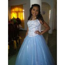 Vestido De Quince Años Americano Estilo Princesa Usado.