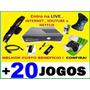 Xbox 360 Hd 250gb 2 Controles Kit Bateria Kinect + 20 Jogos