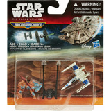 Auto Set Naves Micromachines Star Wars Desert Invasion Rdf1