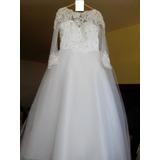 Promoção Vestido De Noiva Mangas Compridas - 42/44