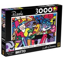 Quebra-cabeça Romero Britto Latin Grammy 3000 Peças
