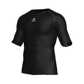Camisa Térmica Preta adidas Tech Fit Tam Gg 6964826b27b0b