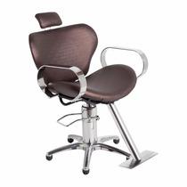Cadeira Cabeleireiro E Barbeiro Reclinavel Reforçada