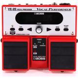 Boss Ve-20 Pedal Processador De Vocal + Gtia. 1 Ano E Nfe