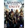 Assassin Creed Unity Juego Pc Steam Original Platinum