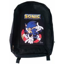 Mochila Sonic Sega Knuckles Tails Gamer