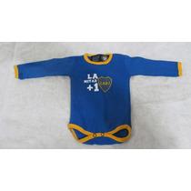 Body Bebé Boca Juniors Producto Ofic Recién Nacido 6 Cuotas