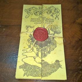 Mapa Do Maroto Artesanal - Original Em Inglês, Harry Potter