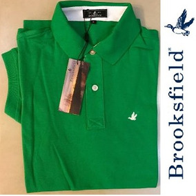 Camisa Polo Brooksfield Lisa Verde + Frete Gratis