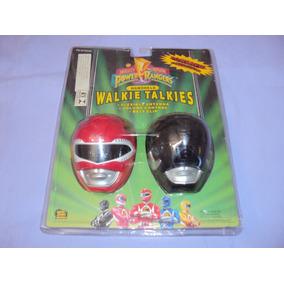 Brinquedo Antigo, Walkie Talkies Dos Power Rangers De 1994.