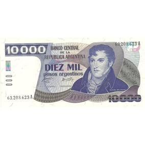 Billete 10.000 Pesos Argentinos Año 1985 Sin Circular 2641