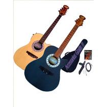 Guitarra Acustica Electroacustica T/ Ovation H/agotar Stock!
