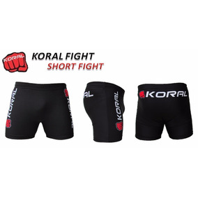 Short Fight Koral Preto