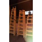 ¡escaleras De Madera Tipo Pintor! ¡todas Las Medidas!