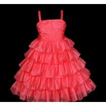 Vestido Festa Infantil Casamento, Aniversário,dama,florista