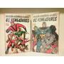 Coleção Histórica Marvel- Box Vingadores Box 1 E 2 Completos