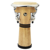 Mini Djembe Latin Percussion Lpm196aw En Roble Y Parches
