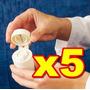 Pask 5 Contenedors De Pastillas, Cortador Moledor Remedios
