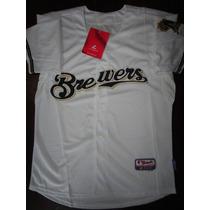 Camiseta Milwuakee Brewers Mlb !!