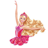 20 Tubete Tule Barbie Sapatilhas Mágicas