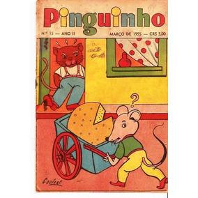 Pinguinho 15 - Editora O Malho - Mar/1955