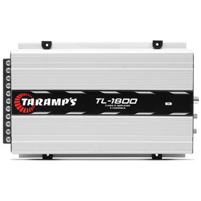 Modulo Taramps Tl 1800 530w Rms Rca 3 Canais 2 Ohms