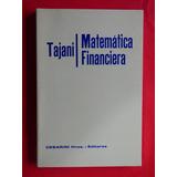 Matematica Financiera Tajani Cesarini Hnos. Editores Nuevos