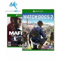 Watch Dogs 2 + Mafia 3 - Xbox One - Digital - Jogue Online