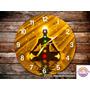 Reloj Espiritual Mandala Reiki Yoga 7 Chakras Ganesha Zen