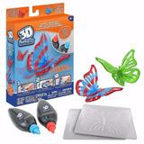 3d Magic - Repuesto Figuras 3d Mariposa - Giro Didáctico