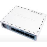 Routerboard Mikrotik Rb750 64mb Ram 5 Portas Licença Level 4