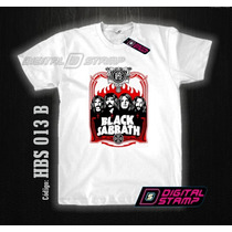 Remeras Black Sabbath 13 Heavy Metal Digital Stamp Dtg