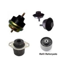 Kit Completo Calço Coxim Motor Câmbio 206 Hoggar - Novo