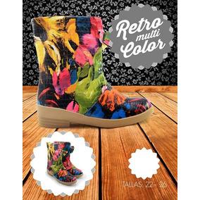 Bota De Moda Casual Impermeable Varios Colores