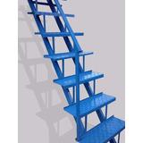 Escalera Recta Hierro Chapa Metal 3m X 60cm Casa Vernazza