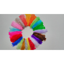 Penas Coloridas 100 Unidades 15cm